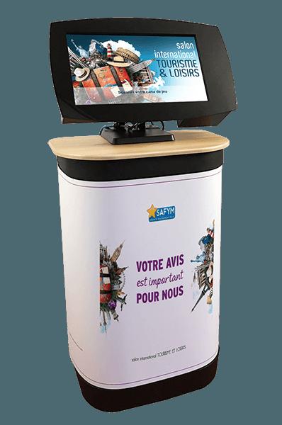 Agence Animaco - Borne interactive