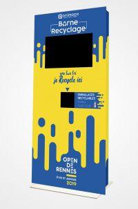 Agence-Animaco - Borne interactive - borne recyclage