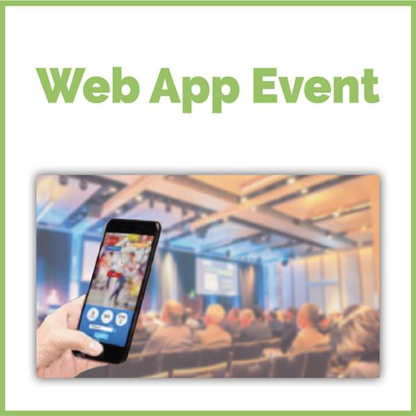 web application evenementielle